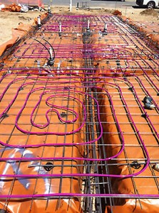 Hydronic Under Floor Heating Systems Residential